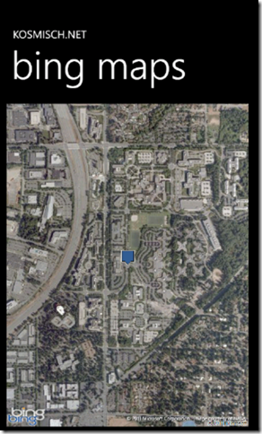 Bing Maps SOAP Services in Windows Phone Screenshot - 4